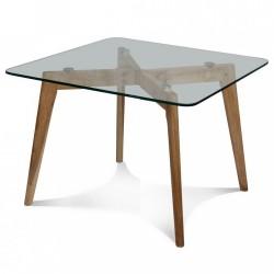 Table à manger CRISTAL carrée - Small
