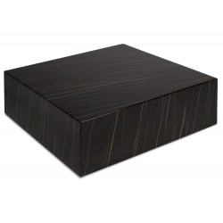 Table Basse CUBE- Mabre noir veiné - Amber