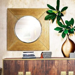 Miroir Golden BOSQ
