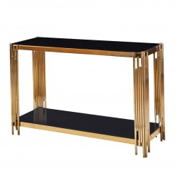 Console SALY - Black & Gold
