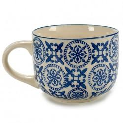 Tasse à thé en porcelaine BLUE ORIENT