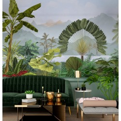 Frèsque AMAZONIA - 234 x 250 cm