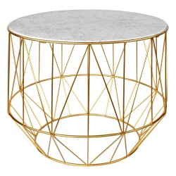 Table DAOLI Marble & Gold