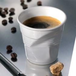 Gobelet à espresso REVO - Porcelaine blanche