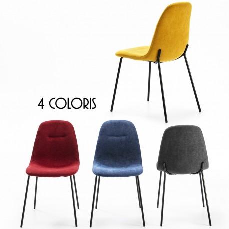 Chaise ASHK - 4 coloris au choix