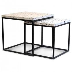 Duo de tables gigognes - YTO