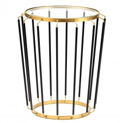 Table LINEAR - Black & Gold